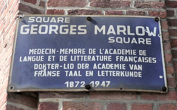 square Georges Marlow - 1180 Uccle